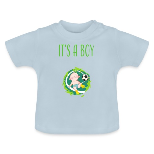 It's a Boy Fußball. Witzige Umstandsmode T-Shirt - Baby T-Shirt