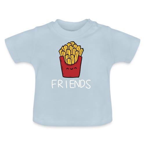 Burger und Pommes Best Friends Partnerlook - Baby T-Shirt
