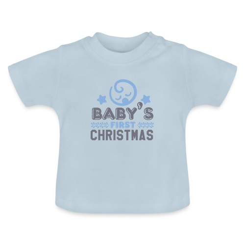 Baby`s First Christmas - Baby T-Shirt