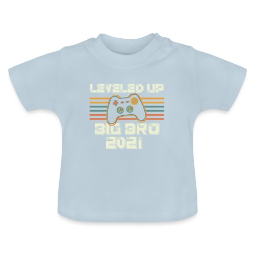 Leveled up to Big Brother 2021 - Baby T-Shirt