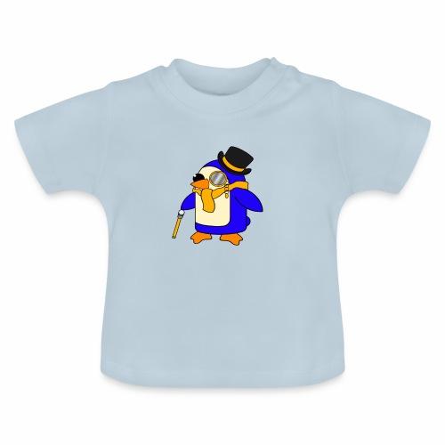 Cute Posh Sunny Yellow Penguin - Baby T-Shirt