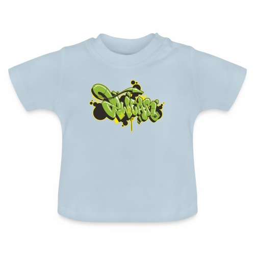 Mesk 2Wear graffiti style Green ver02 - Baby T-shirt