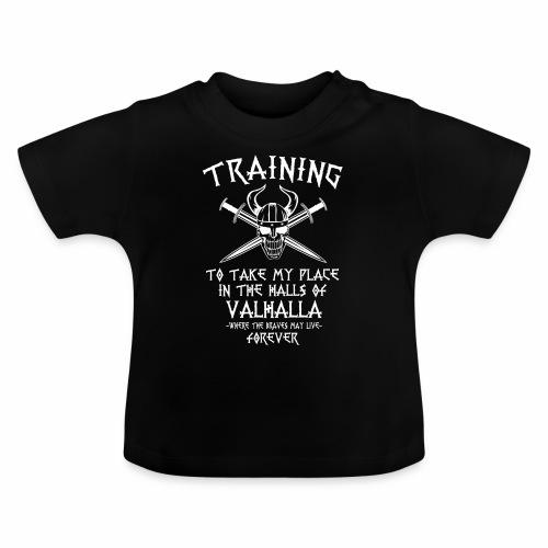 training for Valhalla - Camiseta bebé