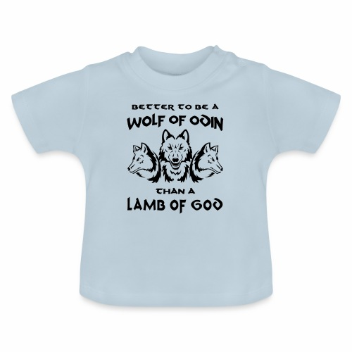 Wolf of Odin - Camiseta bebé