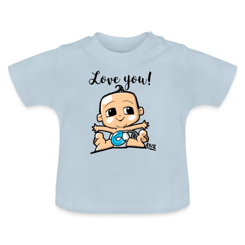 baby boy color - Baby T-shirt
