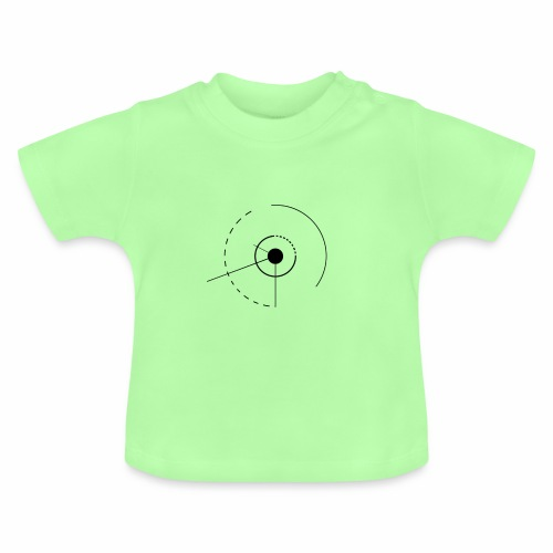 cercles et angles - T-shirt Bébé