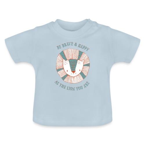 Brave lion - Baby T-Shirt