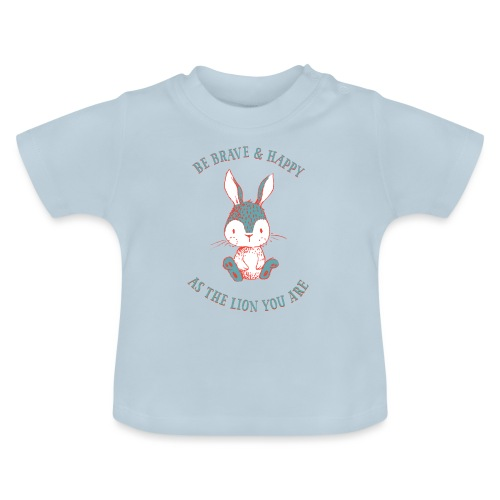 Brave rabbit - Baby T-Shirt