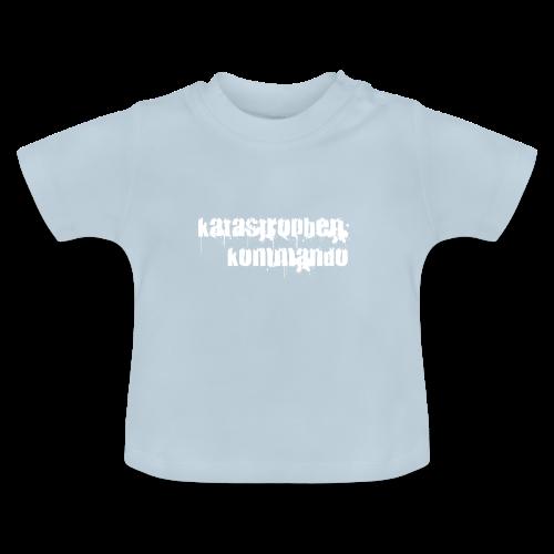 KK Logo weiß - Baby T-Shirt