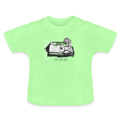 Fast like dad - Baby T-shirt