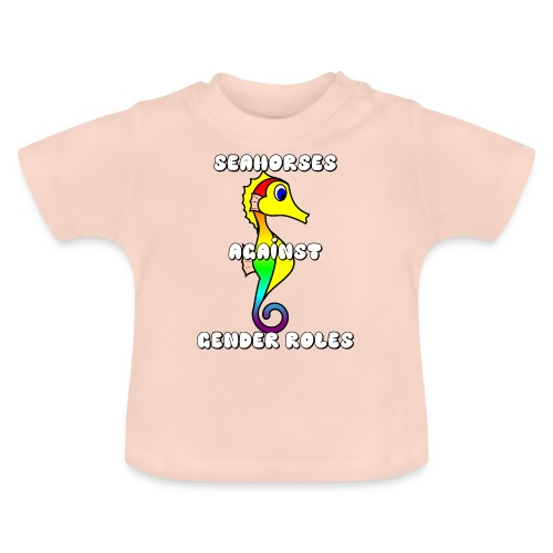 Seahorses against gender roles - Baby T-Shirt