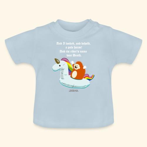 Geek T Shirt Igel, Einhorn & Johannes-Offenbarung - Baby T-Shirt