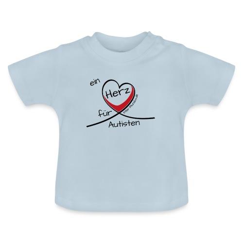 Ein Herz für Autisten - Baby T-Shirt