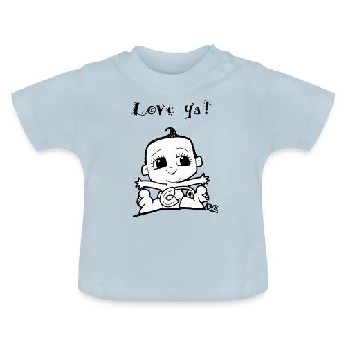 baby girl blackwhite - Baby T-shirt