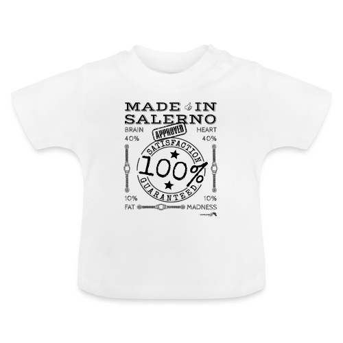 1,02 Made In Salerno - Maglietta per neonato