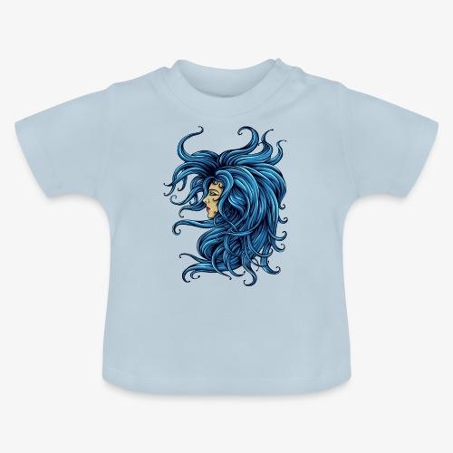 Dame im Blau - Baby T-Shirt