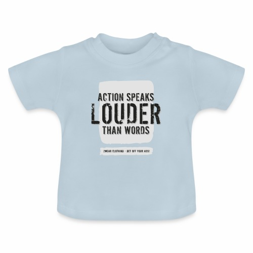Action Speaks 4lines ver0.1 - Baby T-shirt