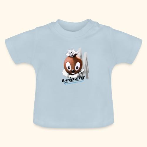 Pittiplatsch 3D Leipzig auf hell - Baby T-Shirt
