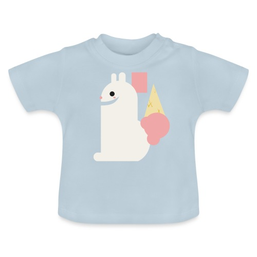Ice cream bunny - Baby T-Shirt