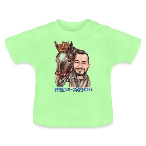Pferde-Hoschi Kollektion hinten - Baby T-Shirt