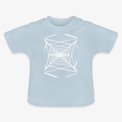 Hochmast V2 Weiß - Baby T-Shirt
