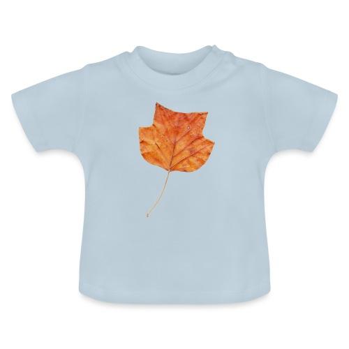 Herbst-Blatt - Baby T-Shirt