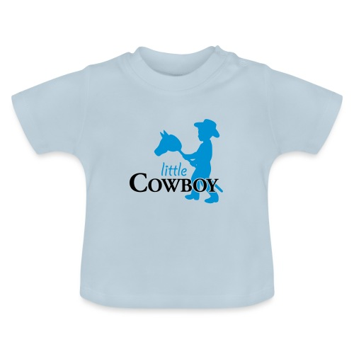 little cowboy_waagrecht - Baby T-Shirt
