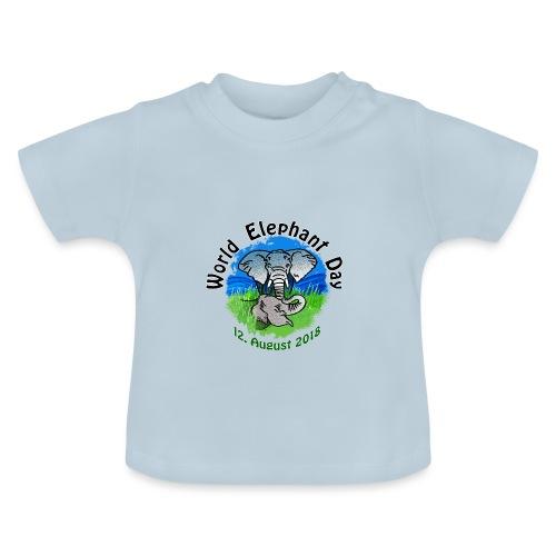 World Elephant Day 2018 - Baby T-Shirt