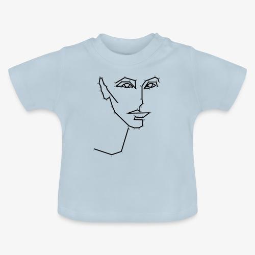 Malen nach Zahlen - Baby T-Shirt