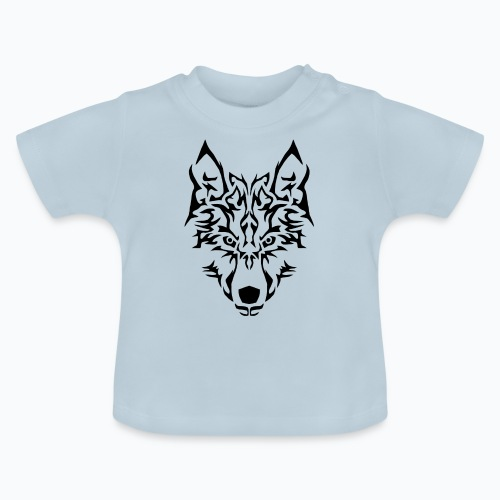 Tribal Wolf - T-shirt Bébé