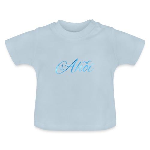 Ahoi mit Anker und Möwe - Baby T-Shirt