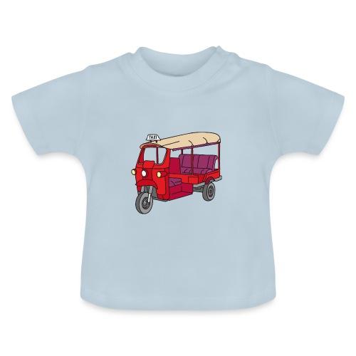 Rote Autorikscha, Tuk-tuk - Baby T-Shirt