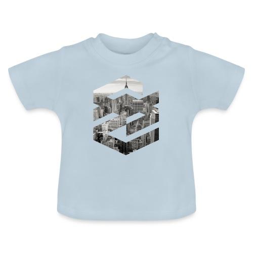 NewYork Manhatten EmpireState Geometische Form - Baby T-Shirt