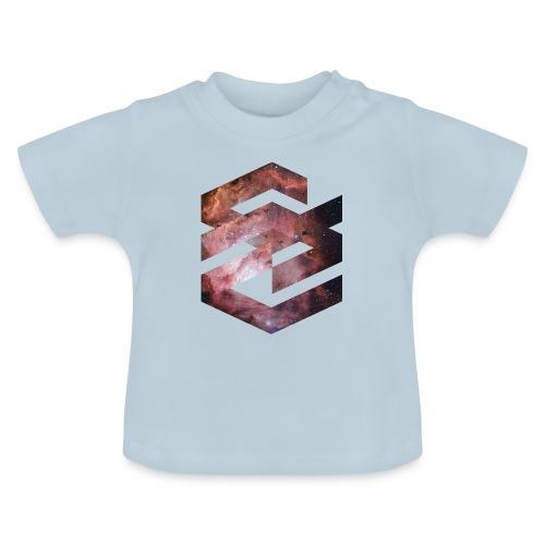 Geometische Galaxie Form - Baby T-Shirt