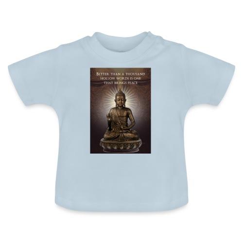 Buddha Wisdom - Baby T-Shirt