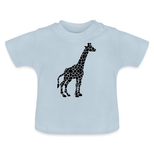 Giraffe (black) - Vauvan t-paita