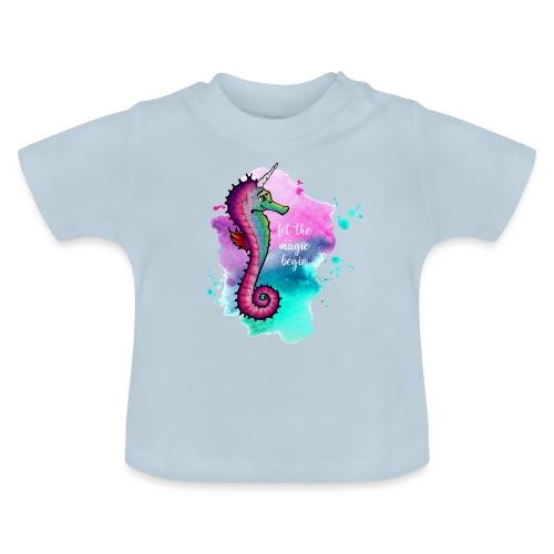 Seahorse-Unicorn - Baby T-Shirt