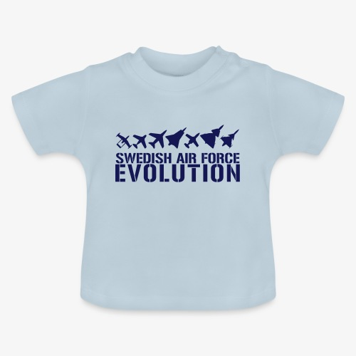 Swedish Air Force Evolution - Baby-T-shirt