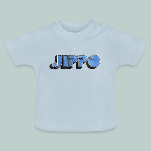 JIPPO LOGO (blue) - Vauvan t-paita