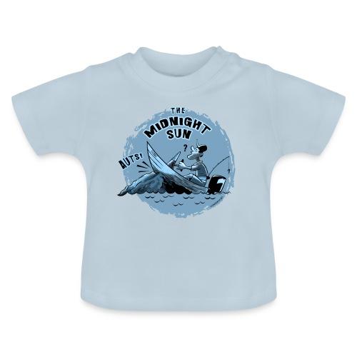 MIDNIGHT SUN, FUNNY FISHING TEXTILES, GIFTS - Vauvan t-paita