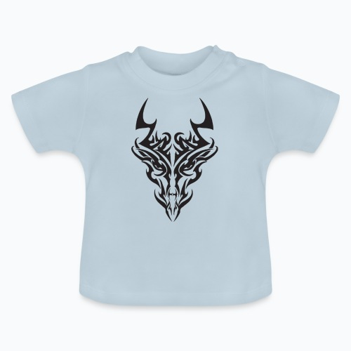tribal dragon - T-shirt Bébé