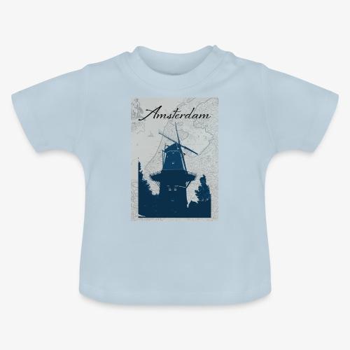 Amsterdam city - Maglietta per neonato