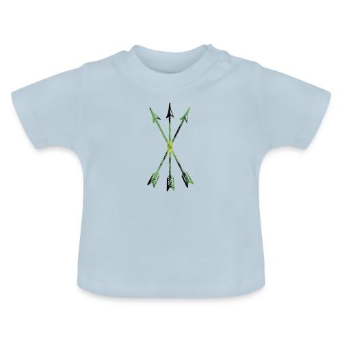 Scoia tael emblem green yellow black - Baby T-Shirt