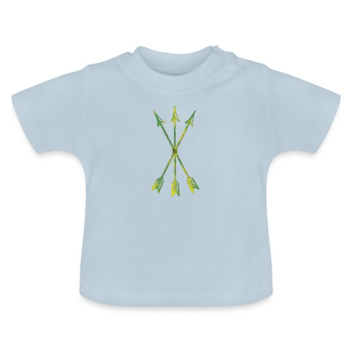 Scoia tael emblem green yellow - Baby T-Shirt