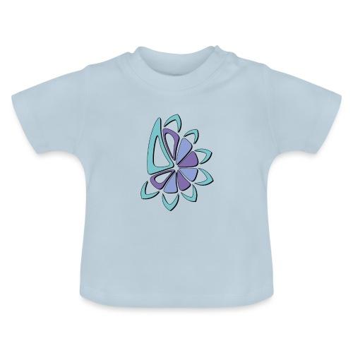 spicchi di sole freddo multicolore - Maglietta per neonato