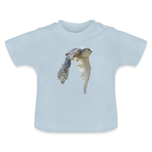 Snowy owl snow owl flying hedwig flight - Baby T-Shirt