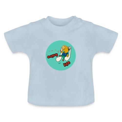 Chiling Capybara - Baby T-Shirt