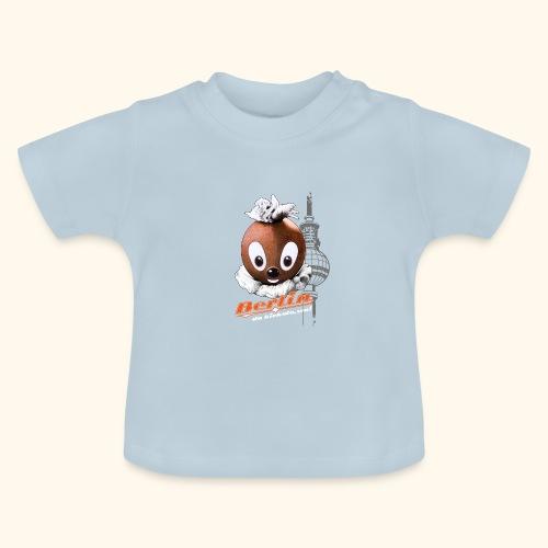 Pittiplatsch 3D Berlin auf dunkel - Baby T-Shirt