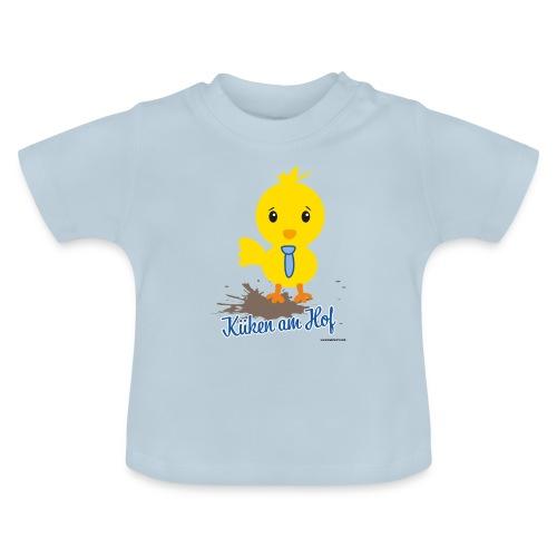 Küken am Hof, Design für Jungen - Baby T-Shirt