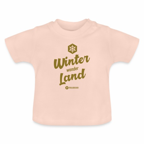 Winter Wonder Land - Vauvan t-paita